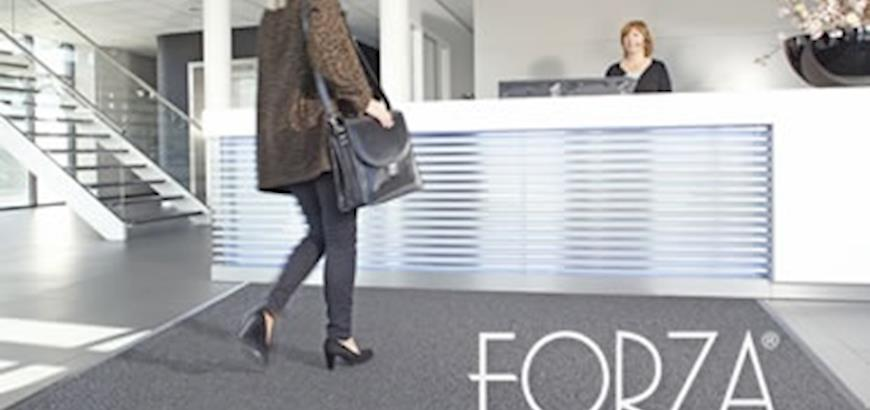 FORZA-ECO, nieuwe duurzame schoonloopzone van Storax