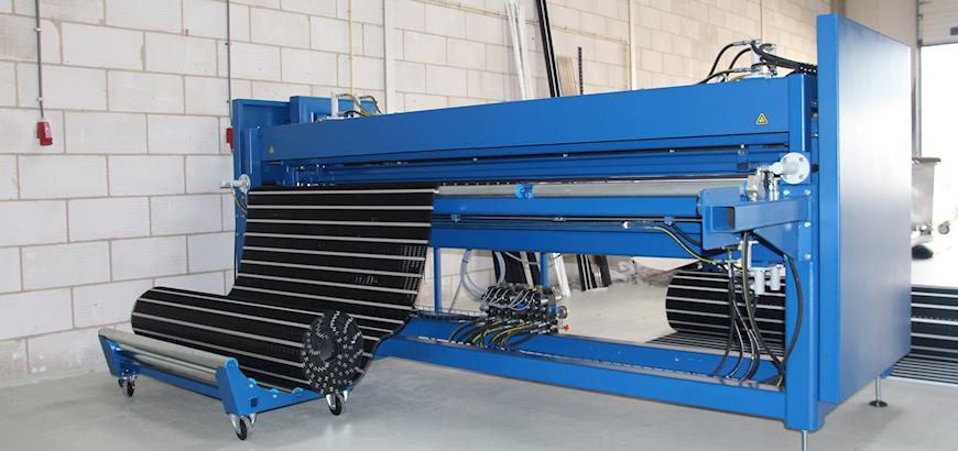 Nieuwe mattenmachine voor Storax