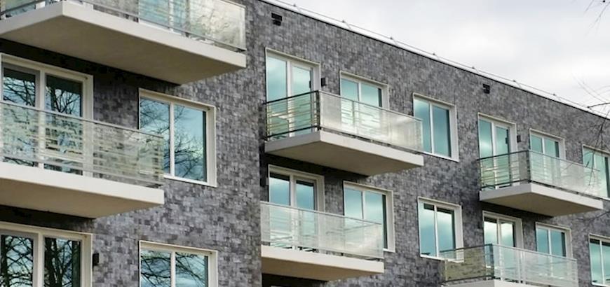Storax levert balkonhekwerken voor Wooncomplex Ginneve te Valkenswaard.
