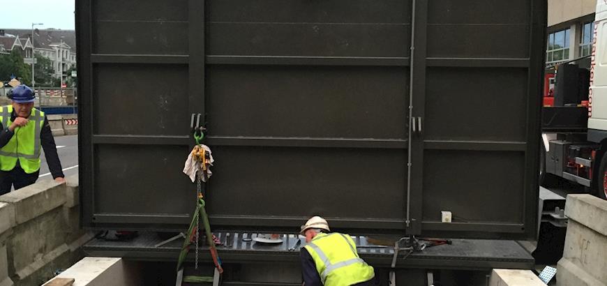 Storax vluchtluik voor ondergrondse parkeergarage Hoog Catharijne