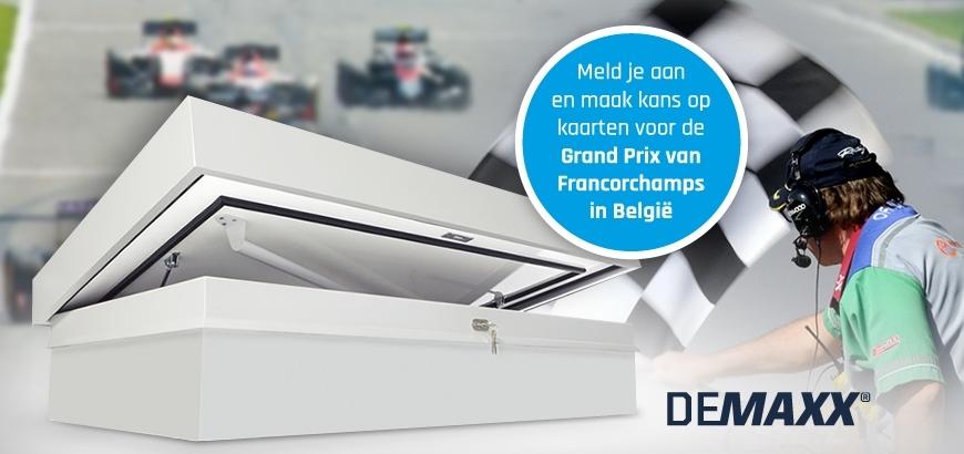 Storax maakt winnaar DEMAXX actie bekend