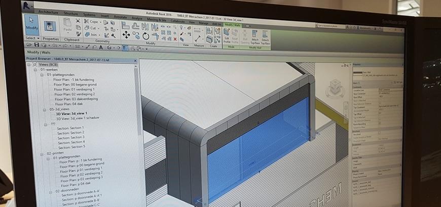 Storax bouwspecialiteiten, ook voor al uw BIM projecten!