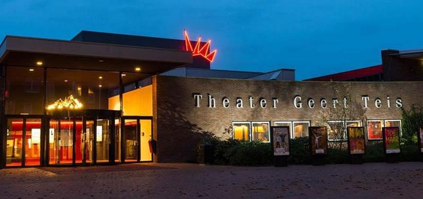 Storax trapneuzen met LED verlichting voor theater Geert Teis