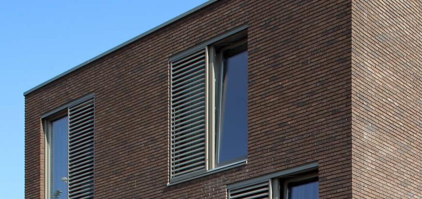 Storax zonwering voor INSTIJL woningen te Amsterdam