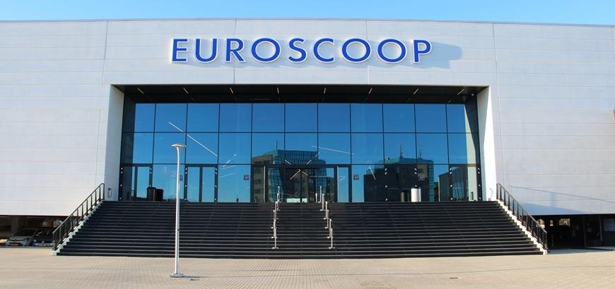 Storax glashekken voor Euroscoop bioscoop te Schiedam