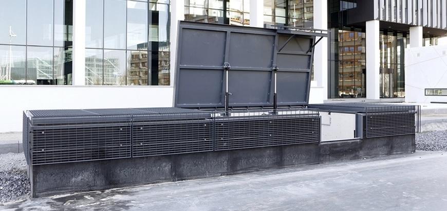 Storax vluchtluiken voor ondergrondse parkeergarages