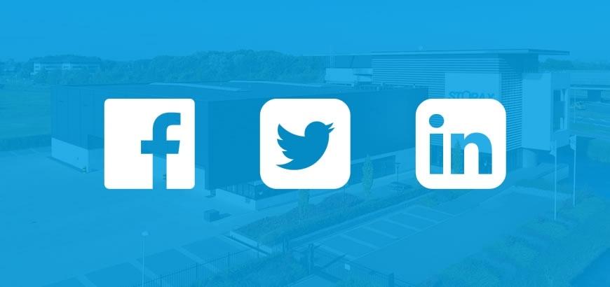 Volg Storax via de nieuwsbrief of social media