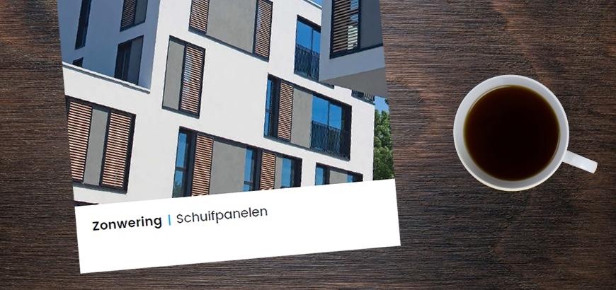 Nieuwe brochure Storax zonwering