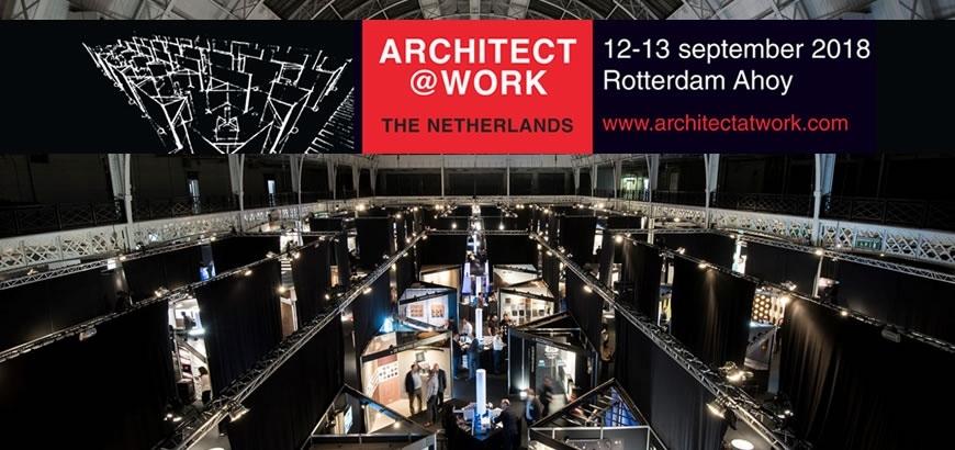 Bezoek Storax op de Architect@Work beurs