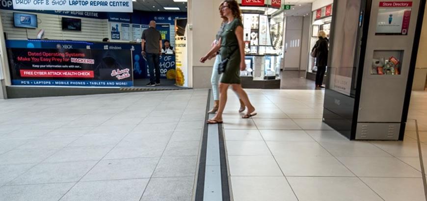 Referentie:  Aardbevingsbestendige dilatatieprofielen voor winkelcentrum Maidstone, UK