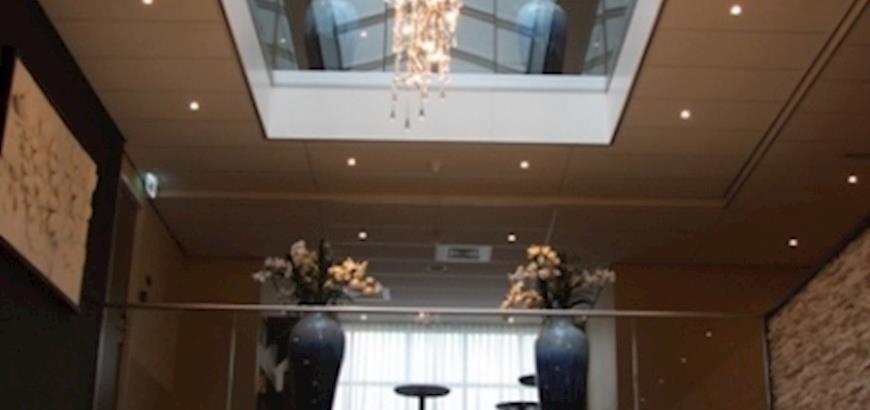 Glazen balustrades voor Hotel Thermen Bussloo