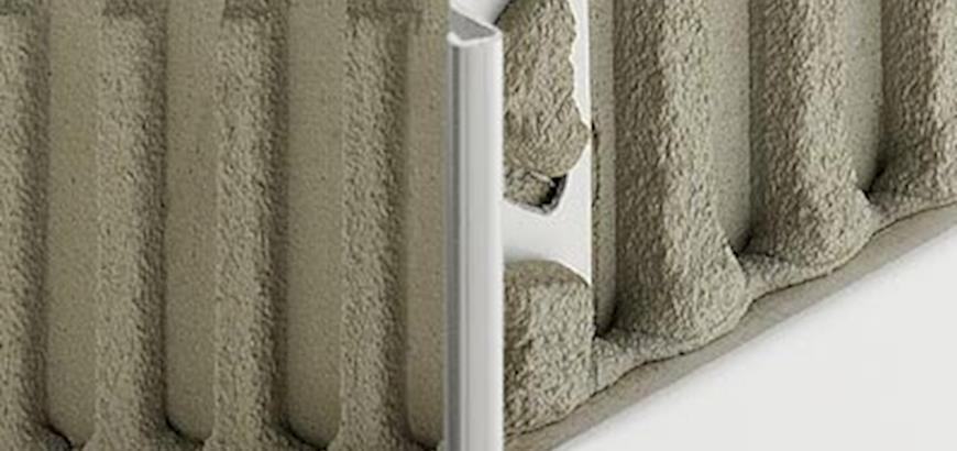 Nieuw Schlüter tegelprofiel voor uitwendige hoeken van 135°