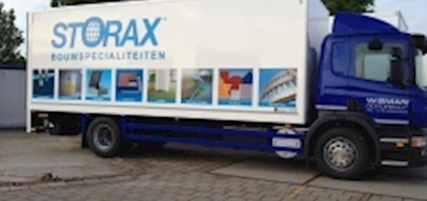 Storax vrachtwagens