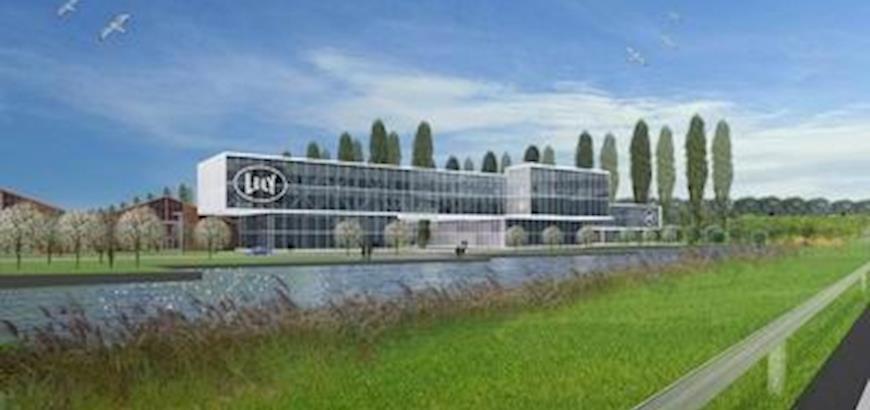 Open dag van het nieuwe bedrijfscomplex van Lely in Maassluis.