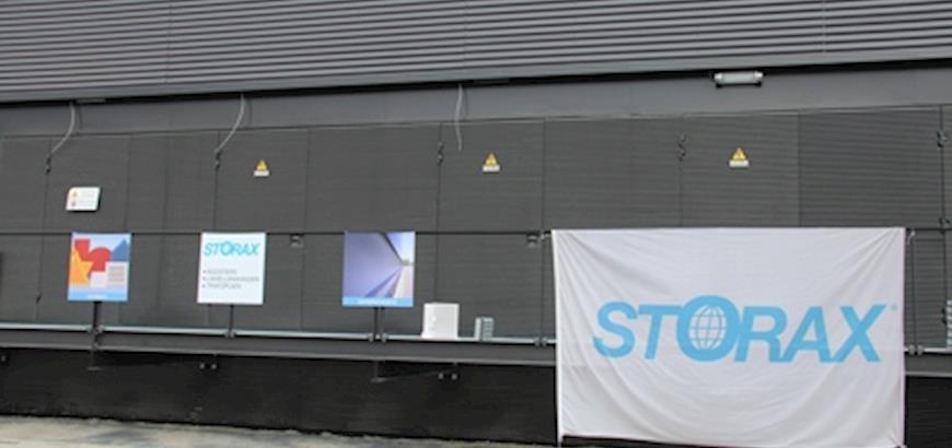 Storax presenteert lamellenwanden en trafopuien tijdens open dag Bouwend Nederland