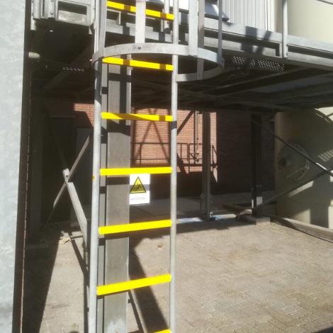 Antislip Laddersporten